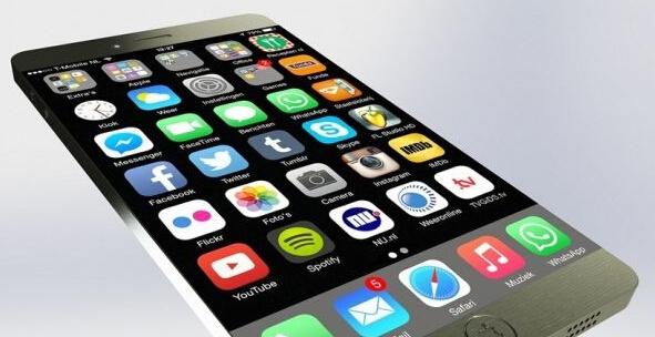 iPhone 7概念机曝光,无边框一体化机身碉堡了!
