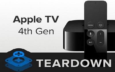看牛人拆解 Apple TV 4